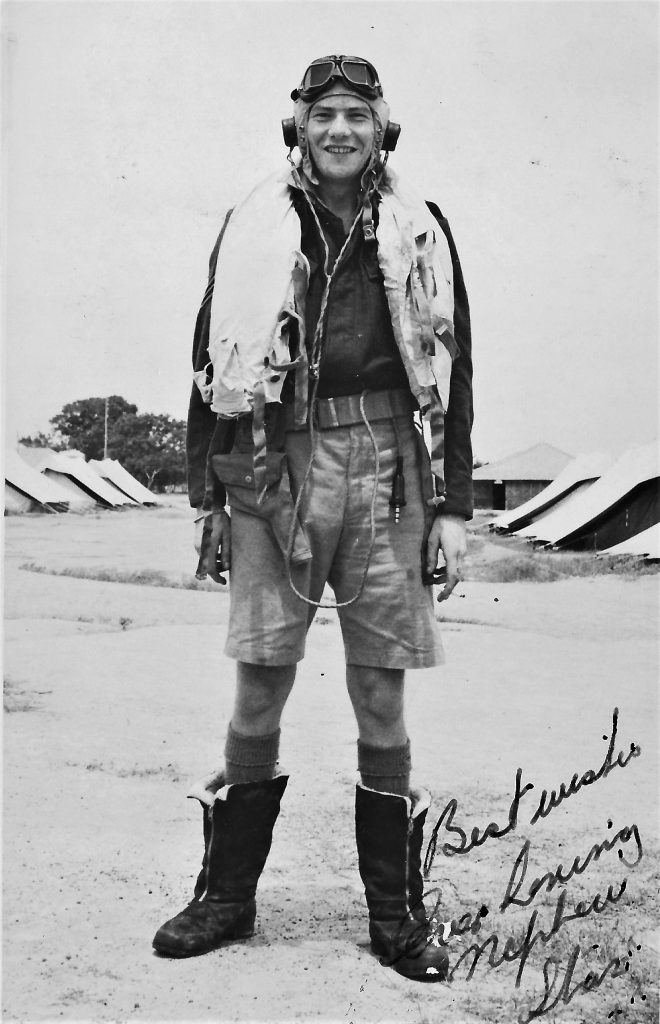 Stan in some of his flying gear September 27 1944
